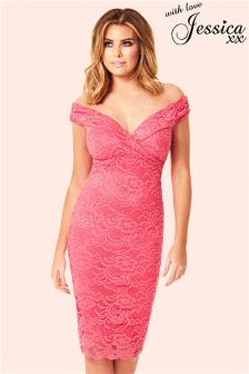 Jessica Wright All Over Lace Dress