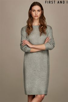 First and I Knit Dress