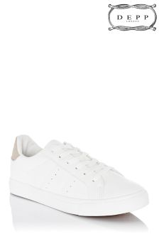 Depp Lace Up Canvas Trainers