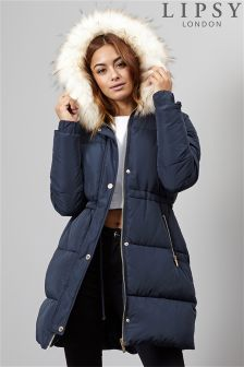 Lipsy Mock Down Puffer