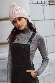 Lipsy Lurex Turtle Neck Jumper