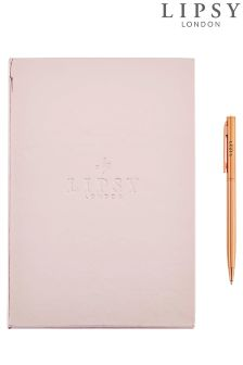 Lipsy Notebook And Pen