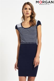 Morgan Short Sleeve Knitwear Dress
