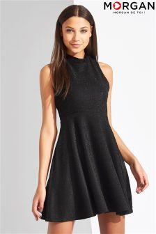 Morgan Fitted Sleeveless Dress