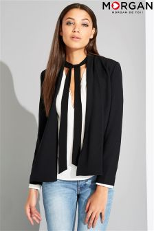 Morgan Waterfall Front Blazer