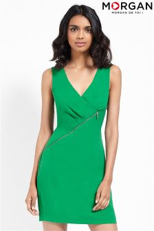 Morgan Zip Detail Dress