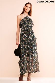Glamorous Halterneck Maxi Dress