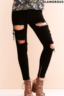Glamorous Ripped Skinny Jeans