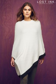 Lost Ink The Grace Button Poncho