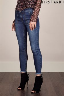 First And I Denim Skinny Jeans