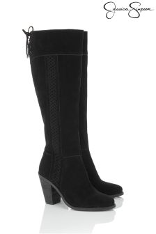 Jessica Simpson Leather Heeled Boots