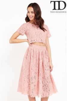 True Decadence Cutout Lace Dress
