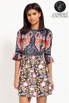 Comino Couture Flamingo Dress