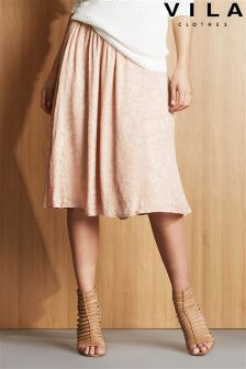 Vila Lace Midi Skirt