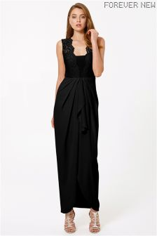 Forever New Lace Detail Maxi Dress