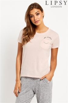 Lipsy Smile Crop Tee