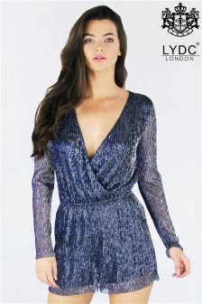 LYDC Metalic Playsuit