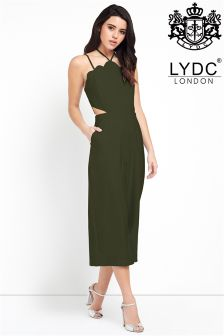 LYDC Scallop Trim Jumpsuit