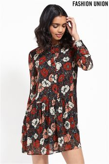 Fashion Union Long Sleeve Dress