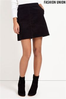 Fashion Union Corduroy Skirt