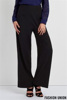 Fashion Union Wide Leg Trousers