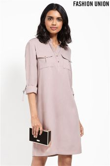 Fashion Union Midi Shirt Dress