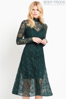 Body Frock Lace Skater Dress
