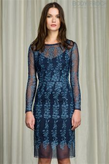 Body Frock Embroidered Lace Dress
