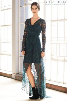 Body Frock Lace Maxi Dress