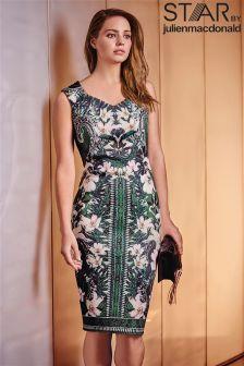 Star By Julien Macdonald Bodycon Print Dress