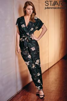 Star By Julien Macdonald Palm Print Jumpsuit