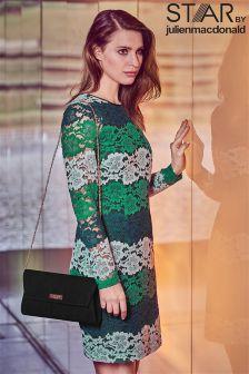 Star By Julien Macdonald Lace Stripe Dress