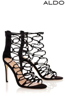 Aldo High Heel Caged Sandals