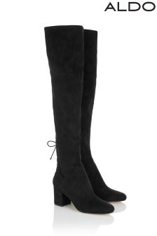 Aldo Block Heel Over The Knee Boots