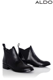 Aldo Leather Chelsea Boots