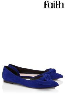 Faith Bow Point Ballerina Shoes