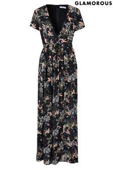 Glamorous Printed Maxi Dress