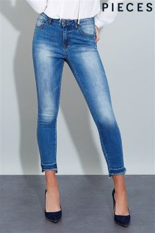 Pieces Cropped Leg Jeans