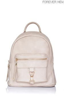 Forever New Buckle Detail Backpack