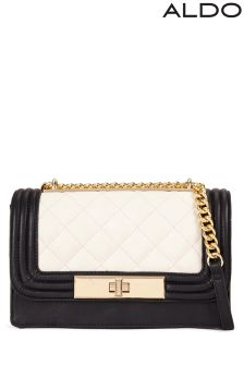 Aldo Small Structured Quilted Crossbody Bag