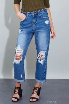 Urban Bliss Straight Leg Jeans