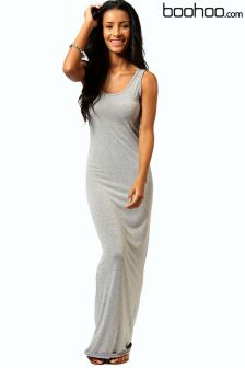 Boohoo Sandy Scoop Neck Maxi