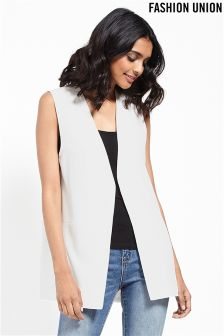 Fashion Union Sleeveless Blazer