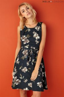 Mela Loves London Floral Print Dress