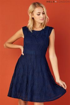 Mela Loves London Textured Dress