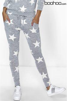 Boohoo Star Print Joggers