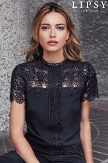 Lipsy Lace T-shirt