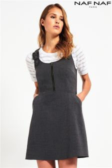 Naf Naf Sleeveless Pinafore Dress