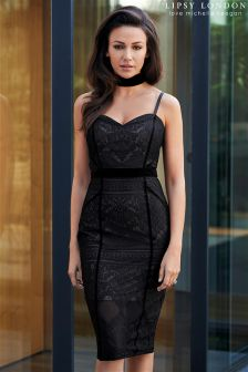 Lipsy Love Michelle Keegan Lace Cami Bodycon Corset Dress