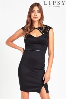 Lipsy Cut Out Bodycon Dress